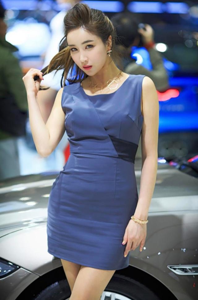 Yêu kiều mỹ nữ Hàn tại Triển lãm ô tô Seoul 2017 - 10