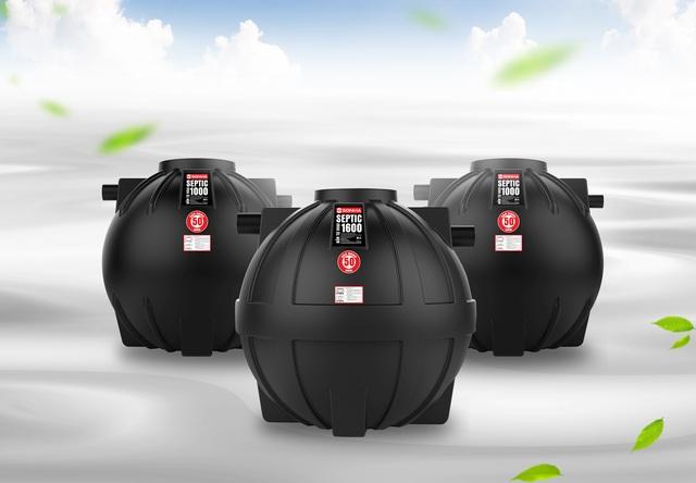 Bồn tự hoại Septic Sơn Hà – giải pháp thay thế bể phốt bê tông truyền thống