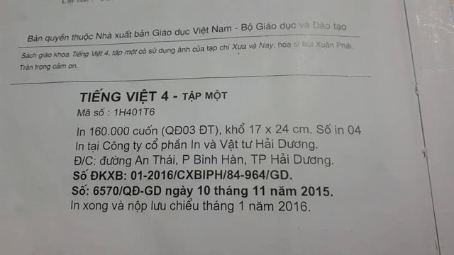 Những bản SGK sau này đã ghi đúng là vua Trần Thái Tông.