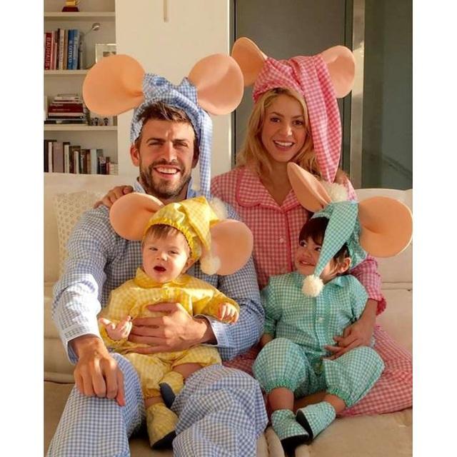 Chưa làm đám cưới nhưng Shakira và Gerard đã ở bên nhau từ năm 2010 đến nay và có 2 mặt con.