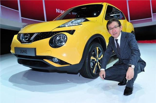 Ông Shiro Nakamura đã chịu trách nhiệm thiết kế một số mẫu xe quan trọng của Nissan như GT-R, Juke, Qashqai, 350Z và Leaf.