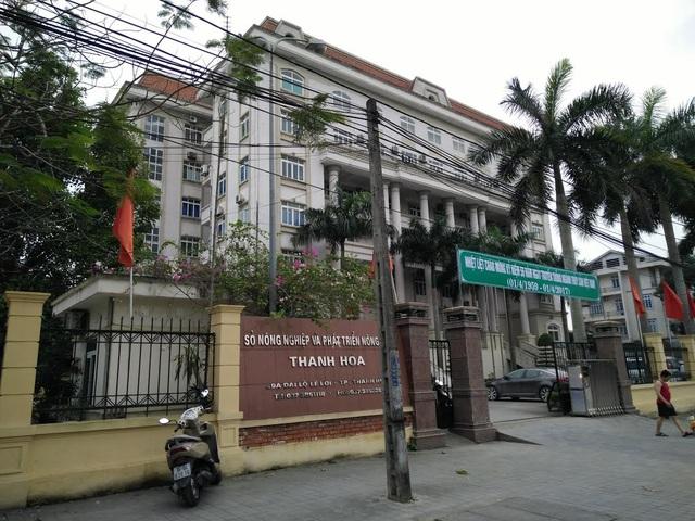 Sở NN&PTNT Thanh Hóa- nơi từng có 8 phó giám đốc Sở