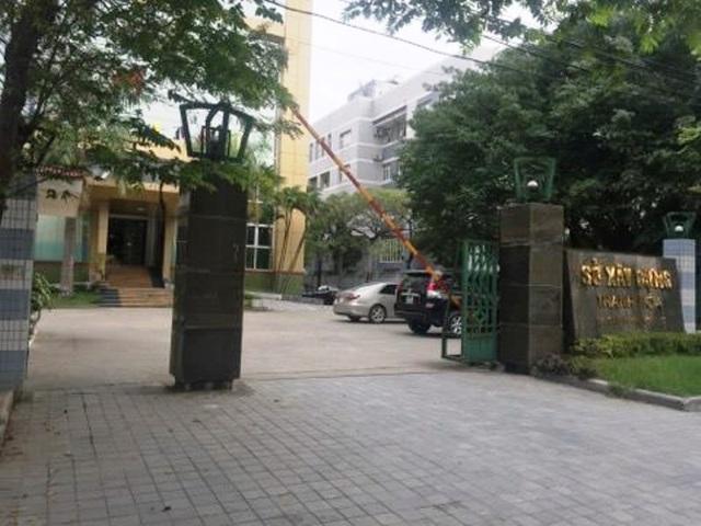 Sở xây dựng Thanh Hóa - nơi bà Quỳnh Anh từng làm việc.