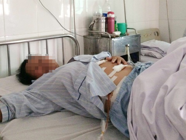 Sức khỏe của bệnh nhân Nguyễn Thị T. đang dần hồi phục sau ca phẫu thuật
