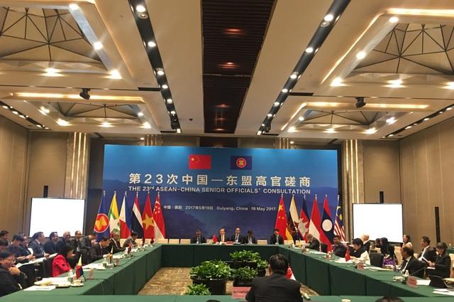 Cuộc họp diễn ra tại Quý Dương, Trung Quốc (ảnh: Bộ Ngoại giao Việt Nam)