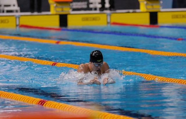 Kim Sơn đã có màn nước rút tốc độ để phá kỷ lục SEA Games, ảnh: Q.H