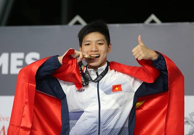 Kim Sơn mới 15 tuổi khi phá kỷ lục SEA Games, , ảnh: Q.H