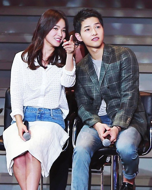 Song Hye Kyo và Song Joong Ki là cặp đôi quyền lực mới của làng giải trí xứ Hàn.