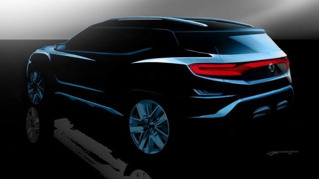 Ssangyong hé lộ về mẫu SUV 7 chỗ sắp ra mắt - 3