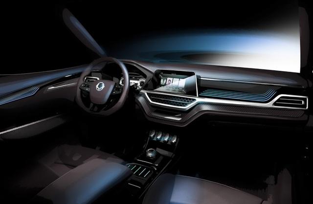 Ssangyong hé lộ về mẫu SUV 7 chỗ sắp ra mắt - 4