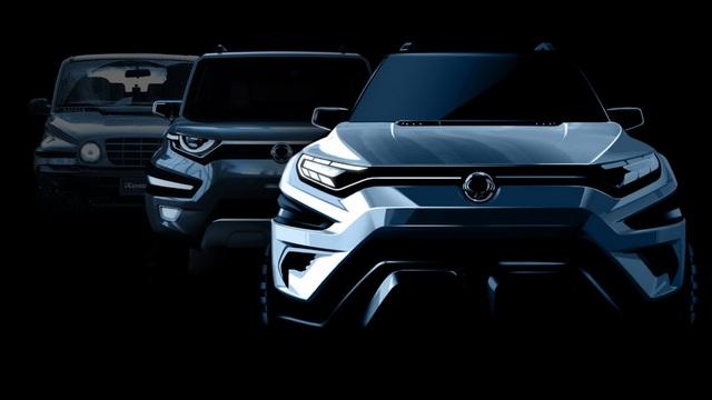 Ssangyong hé lộ về mẫu SUV 7 chỗ sắp ra mắt - 1