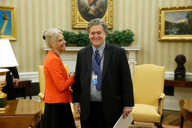Ông Bannon được cho là đứng sau hầu hết các quyết sách của tân Tổng thống Trump.