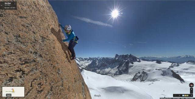 Chinh phục đỉnh núi Aiguille du Midi, Pháp.
