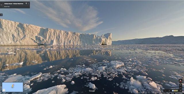 Hòn đảo toàn băng Ilulissat Saavat ở Greenland, Đan Mạch.