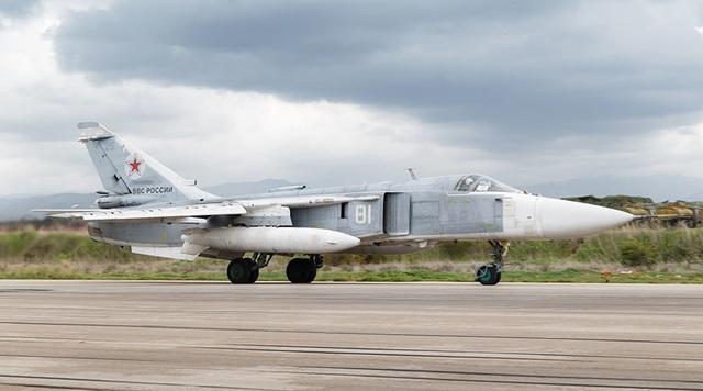 Máy bay Sukhoi Su-24 (Ảnh: Sputnik)