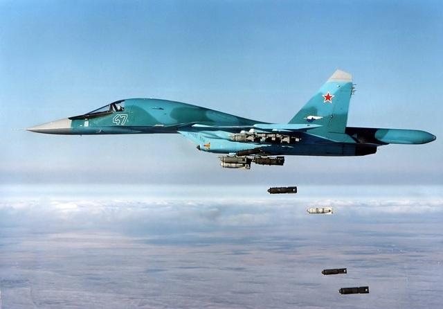 Máy bay Su-34. (Ảnh: Bộ Quốc phòng Nga)