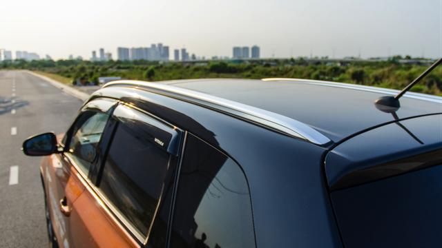 Đường viền nóc xe uyển chuyển mang lại hiệu quả khí động học tuyệt vời