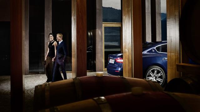 Sự trang trọng đẳng cấp của mẫu xe Quattroporte