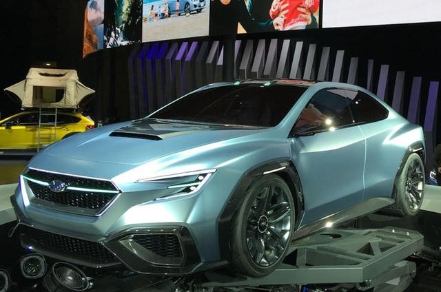 Subaru WRX thế hệ mới sẽ có bản chạy điện - 1