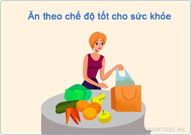 Trong thời điểm khó khăn, hãy ăn nhiều ngũ cốc, rau và trái cây.