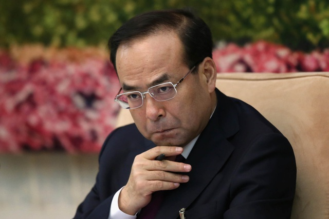 Cựu Bí thư Trùng Khánh Tôn Chính Tài bị cáo buộc âm mưu thâu tóm quyền lực trước khi ngã ngựa. (Ảnh: Reuters)