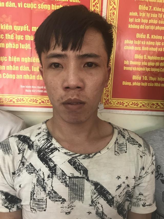 Nguyễn Minh Quý tại cơ quan công an
