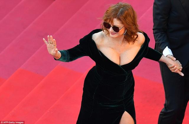 Susan Sarandon dự lễ khai mạc LHP Cannes lần thứ 70 tổ chức tại Pháp ngày 17/5 vừa qua