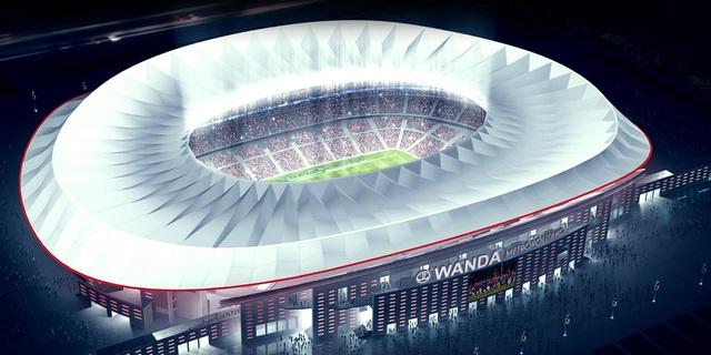 Thiết kế SVĐ mới của Atletico Madrid
