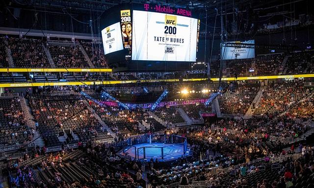 T-Mobile Arena là địa điểm tổ chức trận cầu thế kỷ giữa Mayweather và McGregor