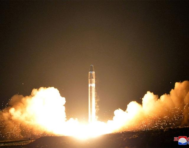 Tên lửa được phóng đi lúc khoảng 3h sáng 29/11 từ phía bắc thủ đô Bình Nhưỡng của Triều Tiên.