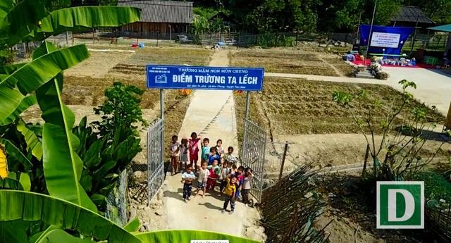 Khánh thành công trình phòng học Dân trí thứ 13 tại Điện Biên - 16