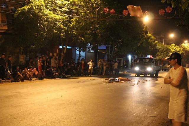 Hiện trường vụ tai nạn ( ảnh Minh Hải)