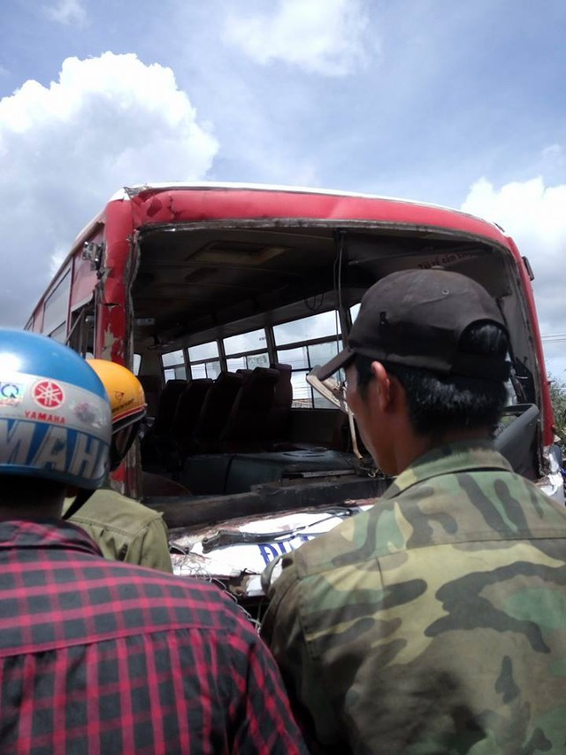 Vụ tai nạn đang được cơ quan chức năng khẩn trương làm rõ (ảnh CTV)