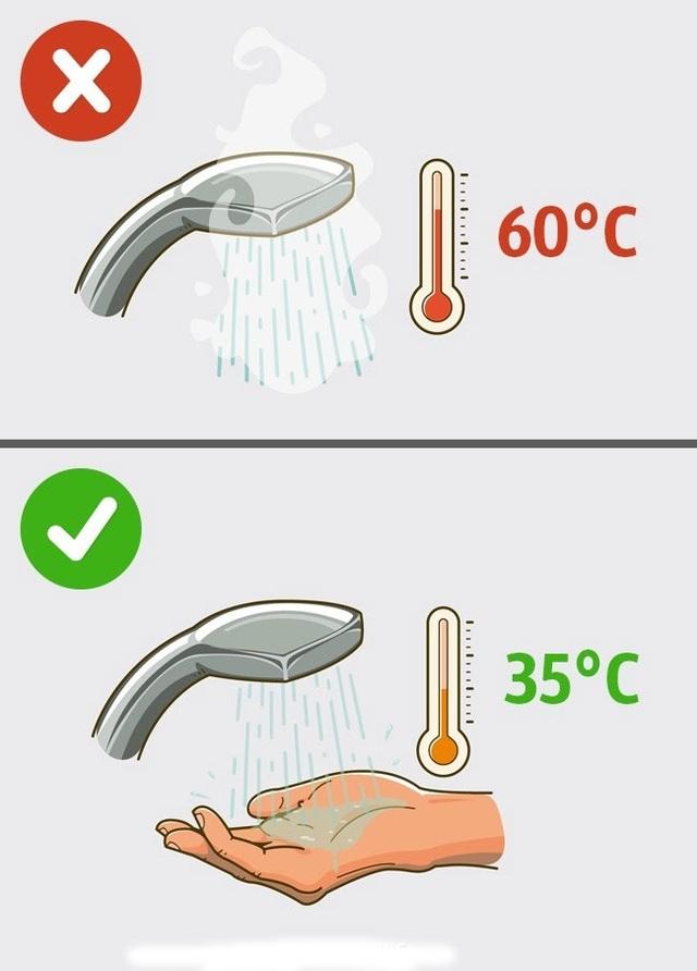 5 lỗi thường gặp khi tắm vòi sen - 1