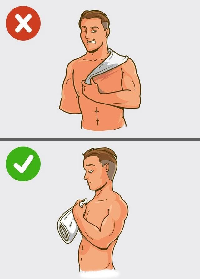 5 lỗi thường gặp khi tắm vòi sen - 5