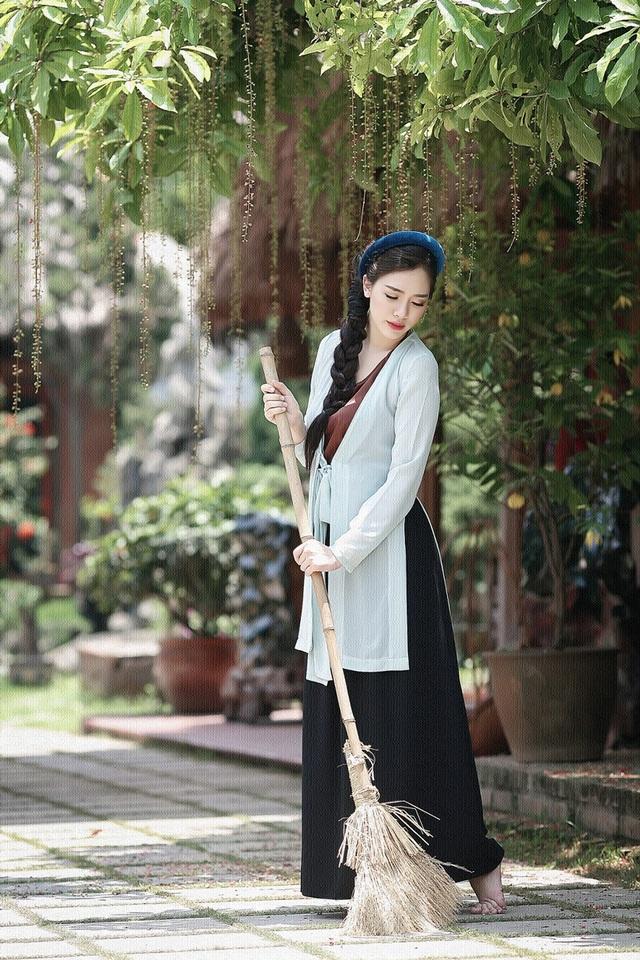 """Hot girl Hà Min """"hóa thân"""" ấn tượng thành cô Tấm yêu kiều - 5"""