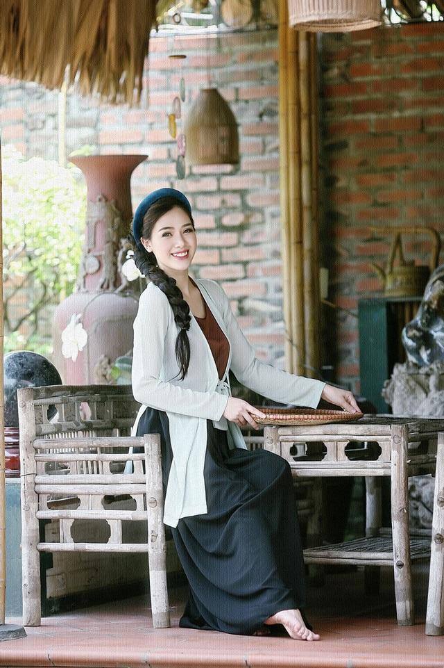 """Hot girl Hà Min """"hóa thân"""" ấn tượng thành cô Tấm yêu kiều - 4"""