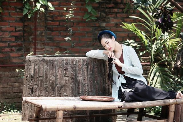 """Hot girl Hà Min """"hóa thân"""" ấn tượng thành cô Tấm yêu kiều - 1"""