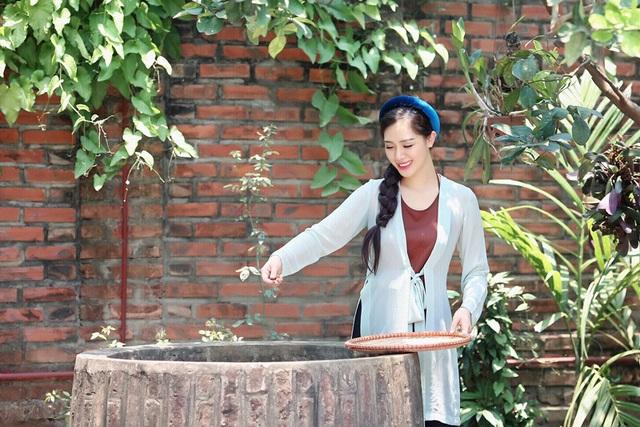 """Hot girl Hà Min """"hóa thân"""" ấn tượng thành cô Tấm yêu kiều - 3"""