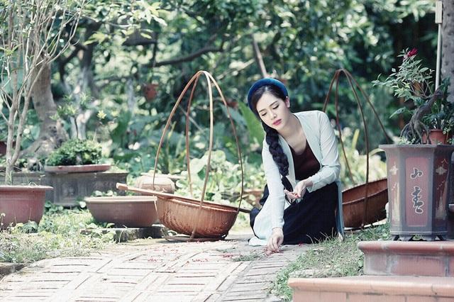 """Hot girl Hà Min """"hóa thân"""" ấn tượng thành cô Tấm yêu kiều - 7"""