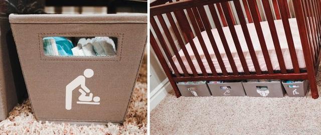 6 ý tưởng cất giữ đồ thông minh dưới gầm giường của bé - 3