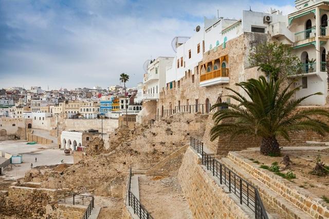 Cung điện Tangier là điểm đến ưa thích của vua vào dịp hè