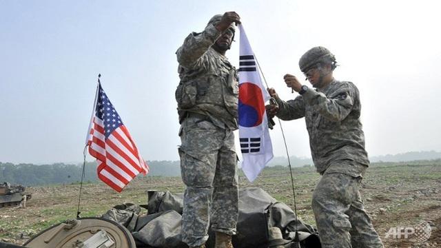 Cuộc tập trận chung Mỹ-Hàn bắt đầu từ ngày 21/8 đến 31/8. (Ảnh: AFP)
