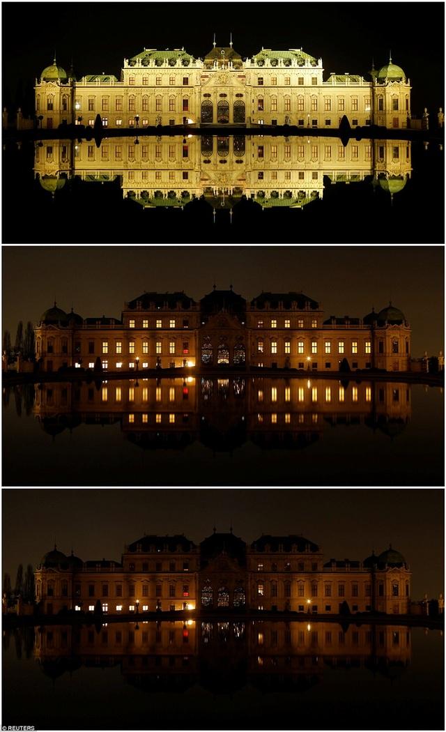 Cung điện Belvedere ở Vienna, Áo.