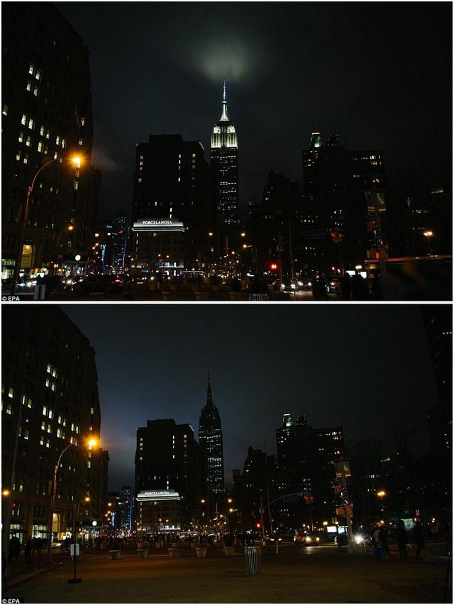 Tòa nhà chọc trời Empire State Building ở New York, Mỹ.