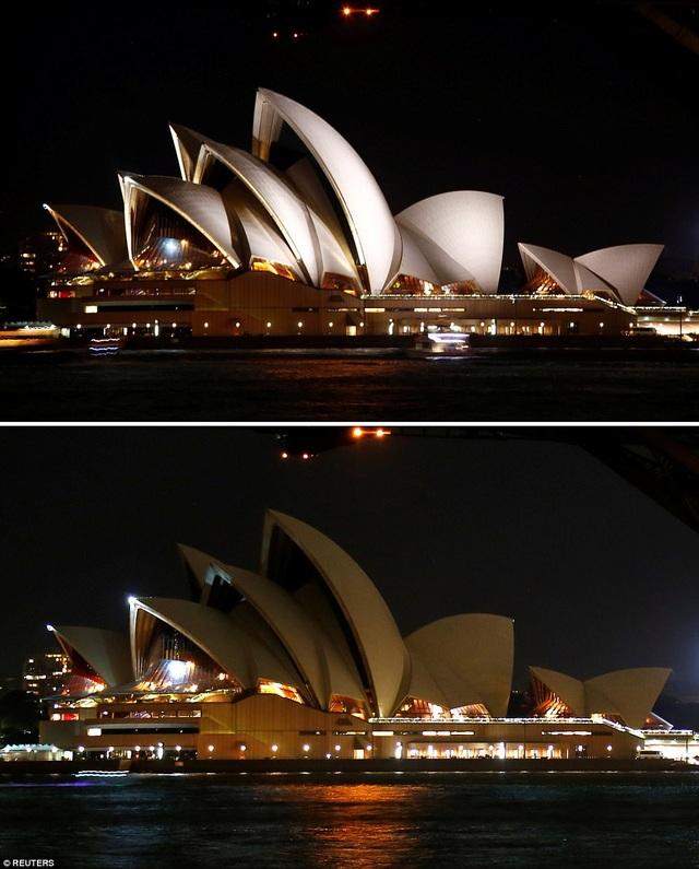 Nhà hát Opera Sydney ở Sydney, Úc.
