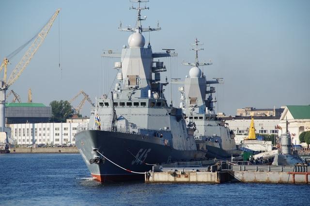 Tàu hộ tống lớp Steregushchiy. (Ảnh: USNI)