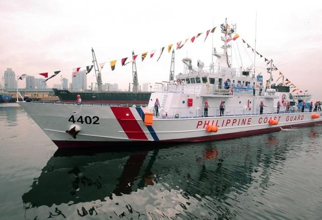 Tàu BRP Malabrigo của Lực lượng tuần duyên Philippines (Ảnh: Manila Bulletin)