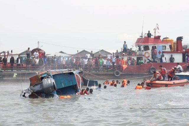 Tai nạn đường thủy thường xuyên xảy ra tại Indonesia (Ảnh: Getty)