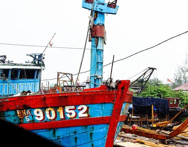 Đà Nẵng đã chọn địa điểm trưng bày tàu cá bị Trung Quốc đâm chìm